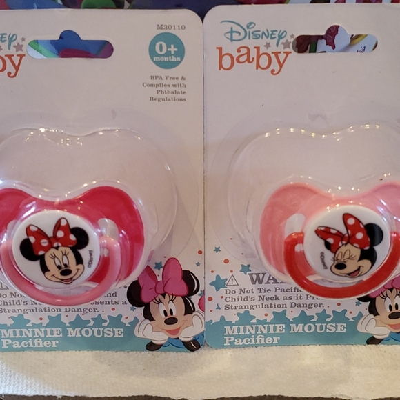 Disney Baby Minnie Mouse Pacifiers